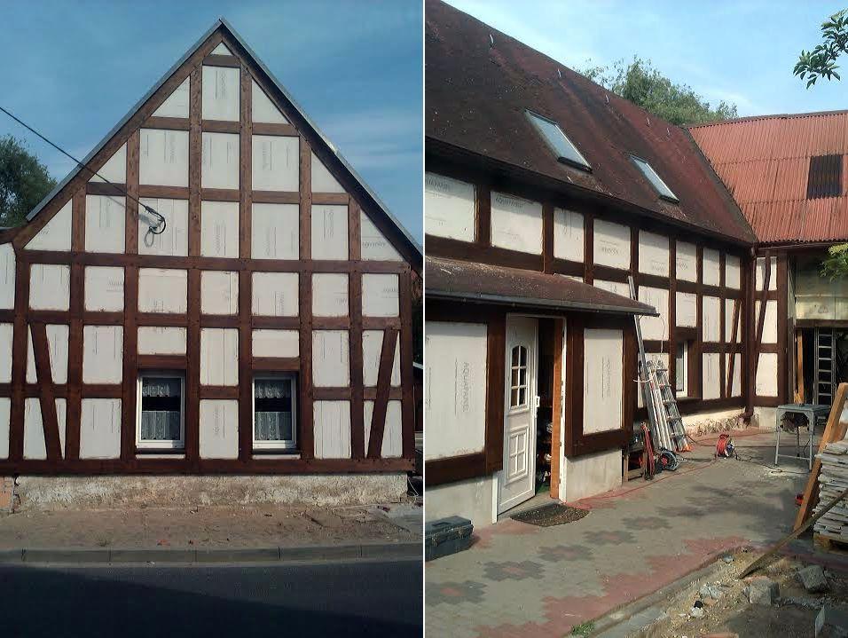 Zimmerei Heider - Sanierungsarbeiten an einem Fachwerkhaus