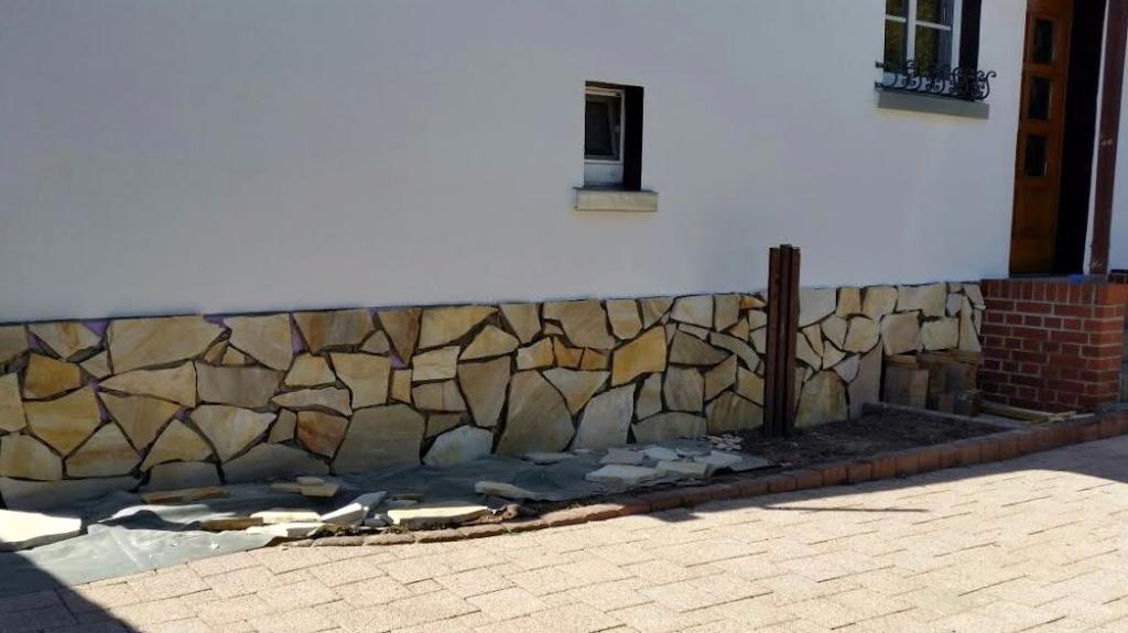 Fassadengestaltung mit Naturstein