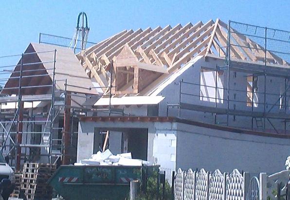 Neubau Einfamilienhaus in Schwante